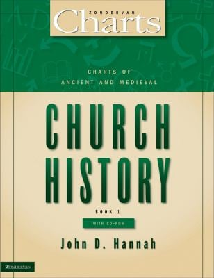 Charts of Ancient and Medieval Church History [With CD-ROM]