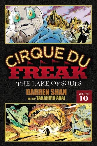 Cirque Du Freak: The Manga, Vol. 10: The Lake of Souls 9780316176071