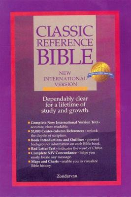 Classic Reference Bible-NIV 9780310945505