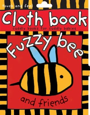 Cloth Book Fuzzy Bee 9780312491505