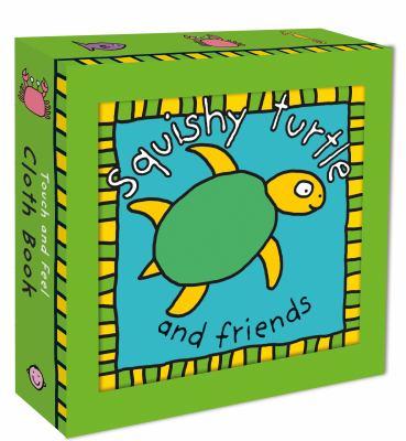 Cloth Book Squishy Turtle