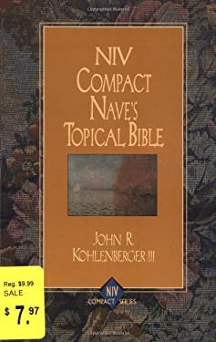 Compact Nave's Topical Bible-NIV 9780310228691