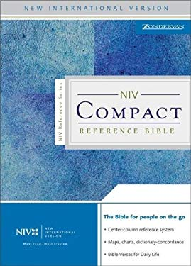 Compact Reference Bible-NIV-Snap Flap 9780310908104