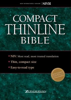 Compact Thinline Bible-NIV 9780310921912