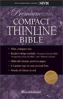 Compact Thinline Bible-NIV 9780310921936