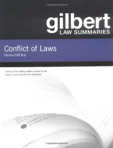 Conflict of Laws 9780314143419