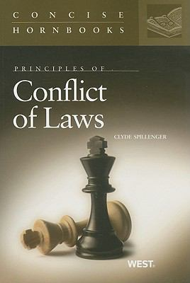 Principles of Conflict of Laws 9780314191021