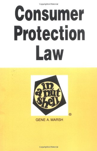 Consumer Protection Law in a Nutshell 9780314231680