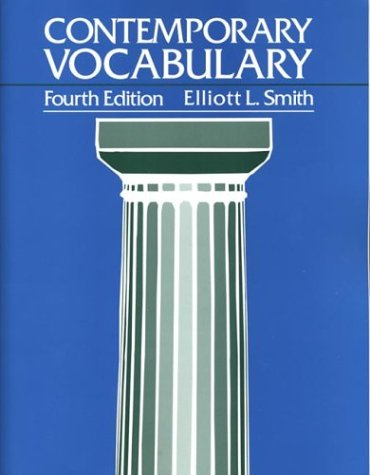 Contemporary Vocabulary 9780312101282