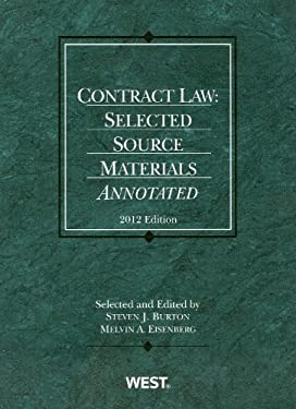 Contract Law: Selected Source Materials Annotated 9780314280756