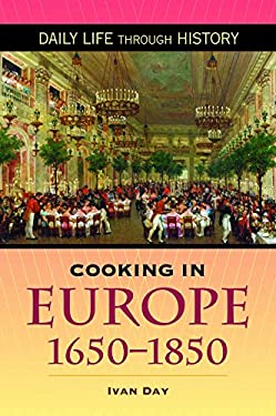 Cooking in Europe, 1650-1850 9780313346248