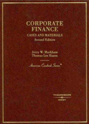 Corporate Finance: Case and Materials 9780314183859