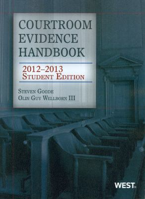 Courtroom Evidence Handbook: Student 9780314281227