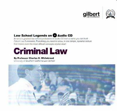 Criminal Law [With CDROM] 9780314160904