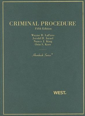 Criminal Procedure 9780314199362