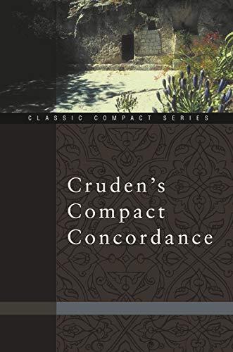 Cruden's Compact Concordance 9780310489719