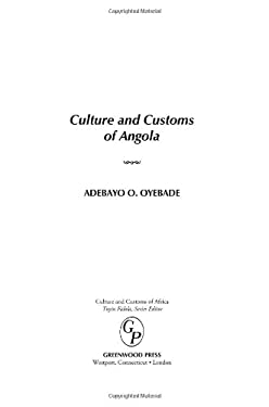 Culture and Customs of Angola