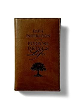 Daily Inspiration for the Purpose Driven Life Deluxe Tan 9780310807254