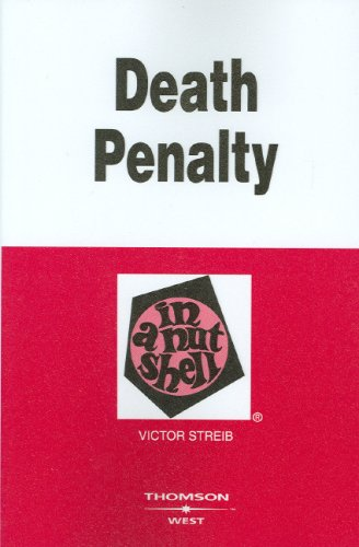Death Penalty in a Nutshell 9780314189820
