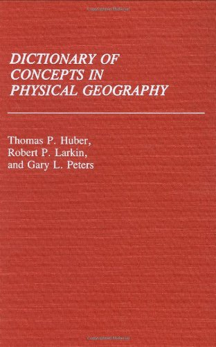 Dictionary of Concepts in Physical Geography 9780313253690