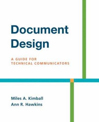 Document Design: A Guide for Technical Communicators 9780312436995