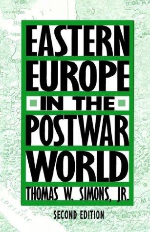 Eastern Europe in the Postwar World 9780312061692