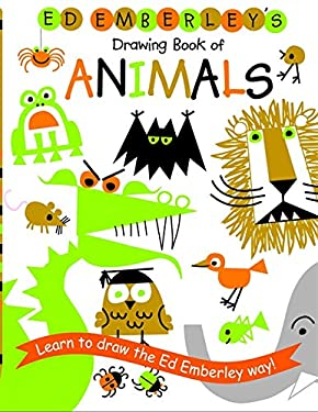 Ed Emberley's Drawing Book of Animals 9780316789790
