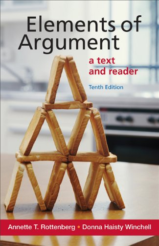 Elements of Argument: A Text and Reader 9780312646998
