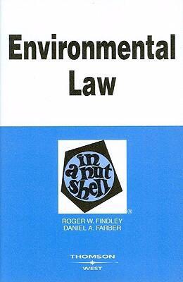Environmental Law in a Nutshell 9780314177209