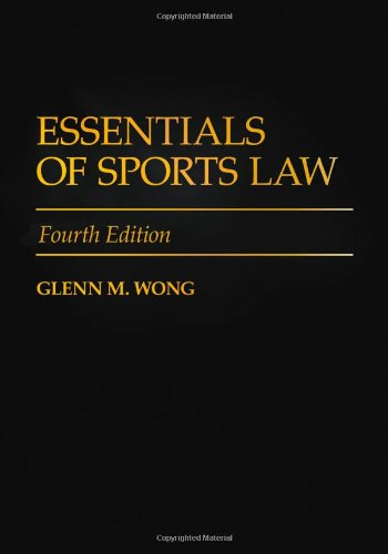 Essentials of Sports Law 9780313356759