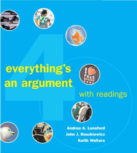 Everything's an Argument with Readings 9780312447502