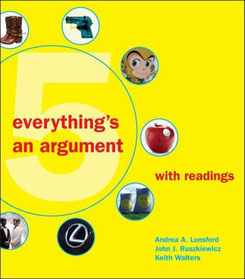 Everything's an Argument with Readings 9780312538613