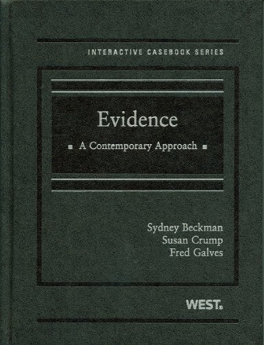 Evidence: A Contemporary Approach 9780314191052