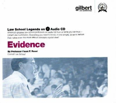 Evidence [With CDROM] 9780314160942