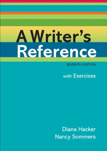 A Writer's Reference: With Exercises 9780312601478