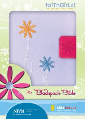 Faithgirlz Backpack Bible-NIV-Magnetic Closure 9780310716297
