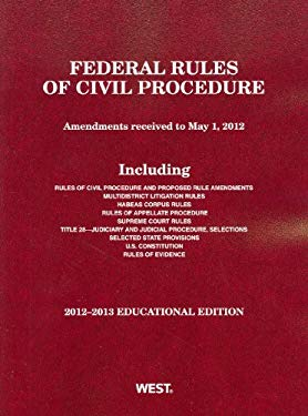 Federal Rules of Civil Procedure 9780314949868