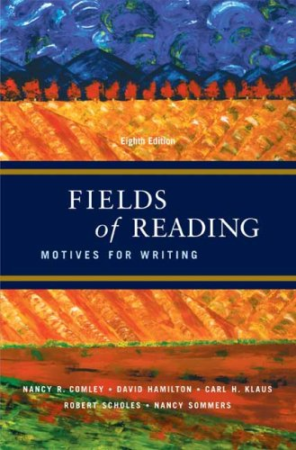 Fields of Reading: Motives for Writing 9780312446932