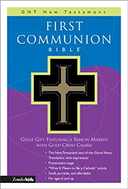 First Communion Bible-GNV-Compact [With Gold Charm on Ribbon Marker] 9780310708322