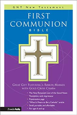 First Communion Bible-GNV-Compact [With Gold Cross Charm on Ribbon Marker] 9780310708315