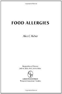 Food Allergies 9780313352737