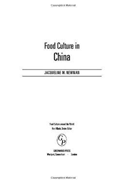 Food Culture in China 9780313325816