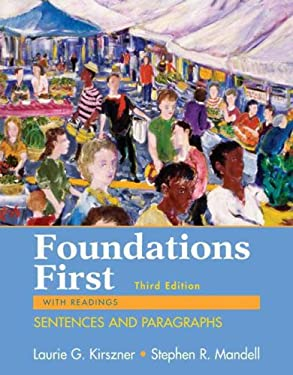 Foundations First: Sentences and Paragraphs, with Readings 9780312459895