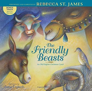 Friendly Beasts: An Old English Christmas Carol 9780310720126