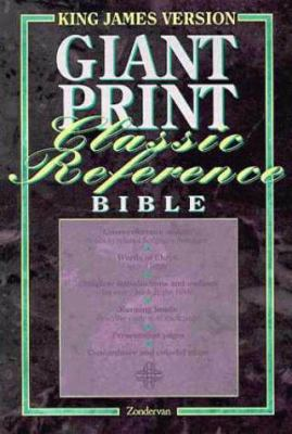 Giant Print Classic Reference Bible 9780310932987