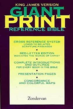 Giant Print Reference Bible-KJV 9780310933632