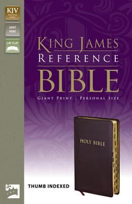 Giant Print Reference Bible-KJV-Personal Size 9780310922032