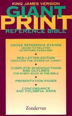 Giant Print Reference Bible-KJV 9780310933670