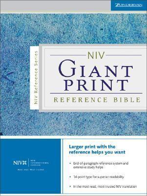 NIV Giant Print Reference Bible 9780310908173