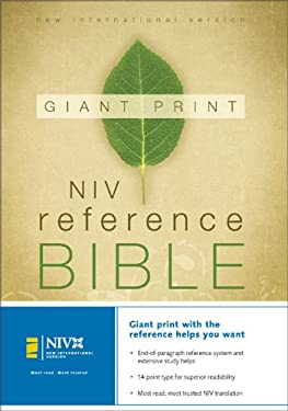 Giant Print Reference Bible-NIV 9780310908364